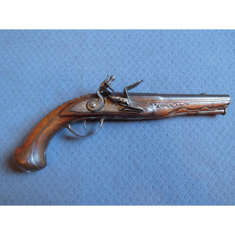 18th Century Flintlock Pistol By Antoine Dumarest