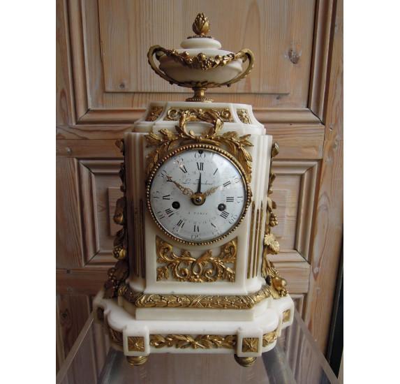 Landmarck clock, louis XVI period