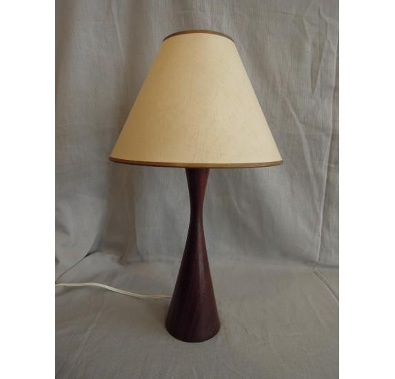 Lampe de chevet danoise en teck