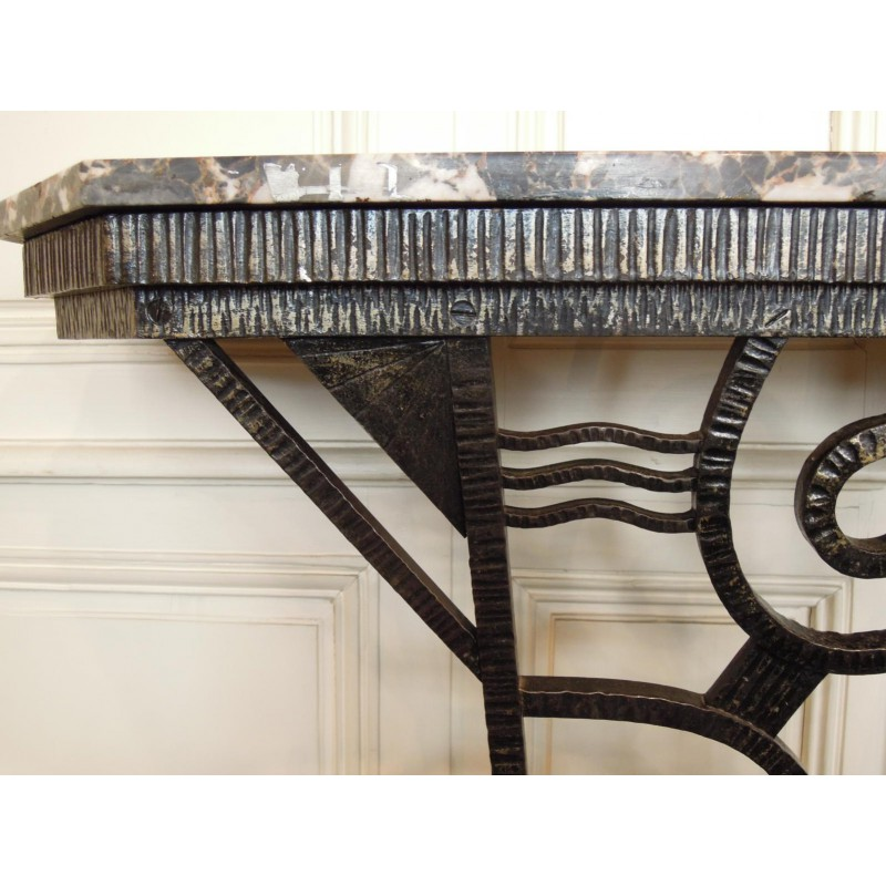 petite console d 39 entr e d 39 poque art d co. Black Bedroom Furniture Sets. Home Design Ideas