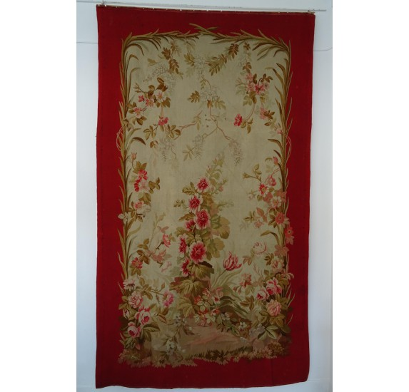 Tapestry door curtain, Napoleon III era