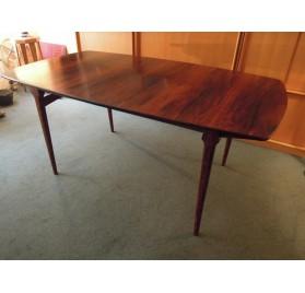 Grande table scandinave en palissandre