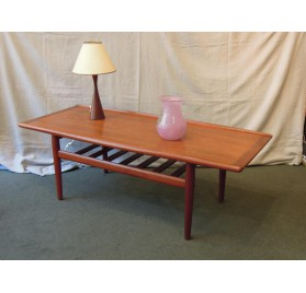 Danish teak coffee table by Grete Jalk