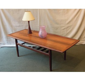 Danish rosewood coffee table by grete Jalk