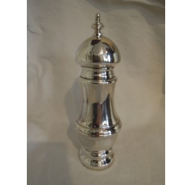 Louis XVI style silver plated pepper pot, Plasait