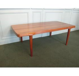 Solid teak coffee table, scandinavian style