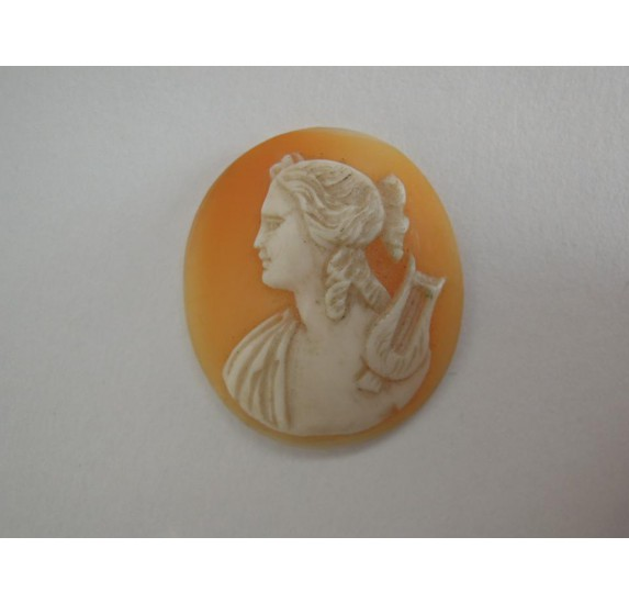 Art Nouveau cameo, Apollo