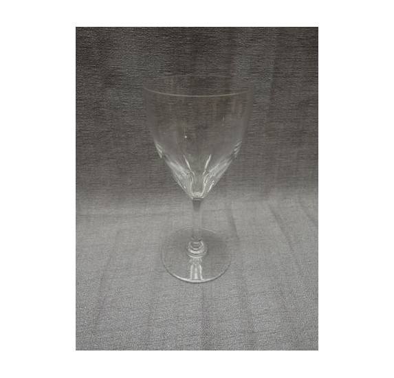 Baccarat: large crystal water glass, model Genova