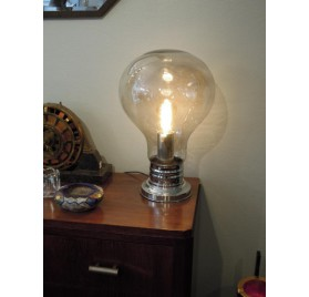 "70s lamp ""bulb"" by Delmas"