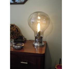 """Lampe """"ampoule"""" Delmas années 70"""