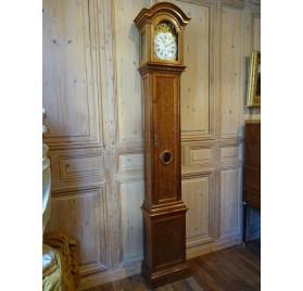 Horloge de parquet signée Robin d'époque Louis XVI