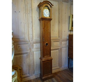 Walnut floor clock by Robin, Louis XVI period