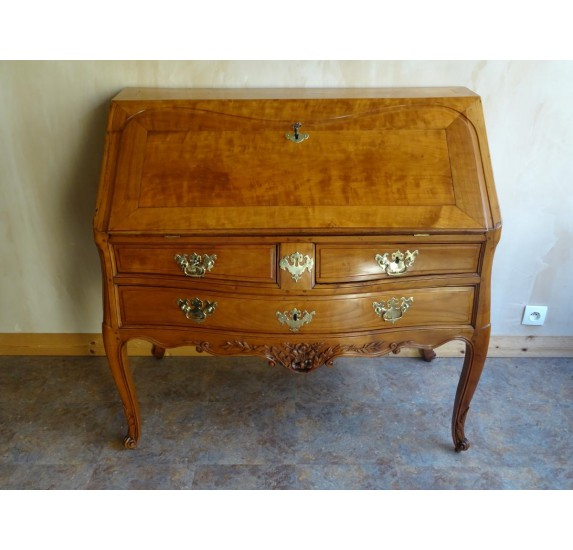 Cherry writing desk, Louis XV era