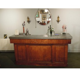 Art Deco bar with zinc and beer pump