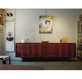 Rio rosewood sideboard by Arne Vodder for Sibast