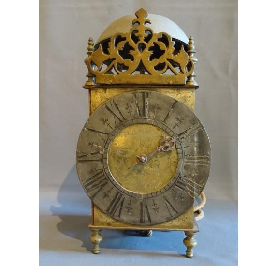 Mouvement d'horloge normand à une aiguille début XVIIIe