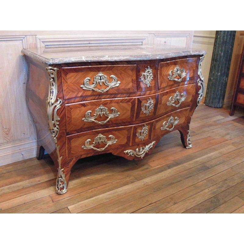 ... Antique Louis XV commode stamped Boudin ...