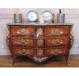 Antique Louis XV commode stamped Boudin