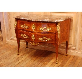 Marquetry chest of drawers, Louis XV era