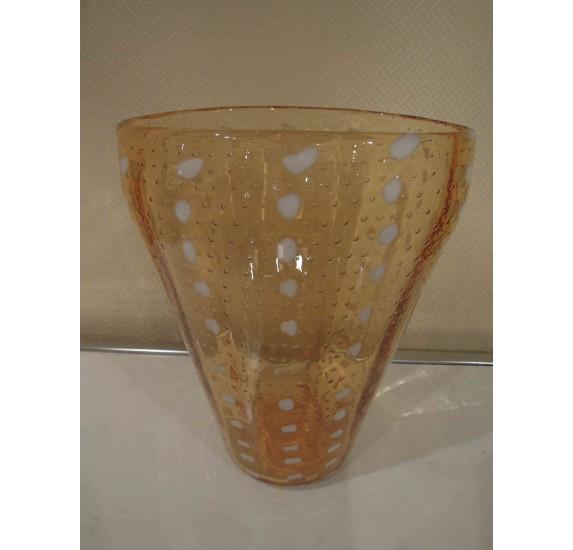 Big Art Deco vase Toso & Barovier, Murano