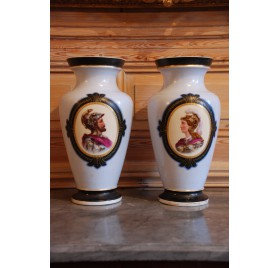 Pair of porcelain vases - Napoleon III