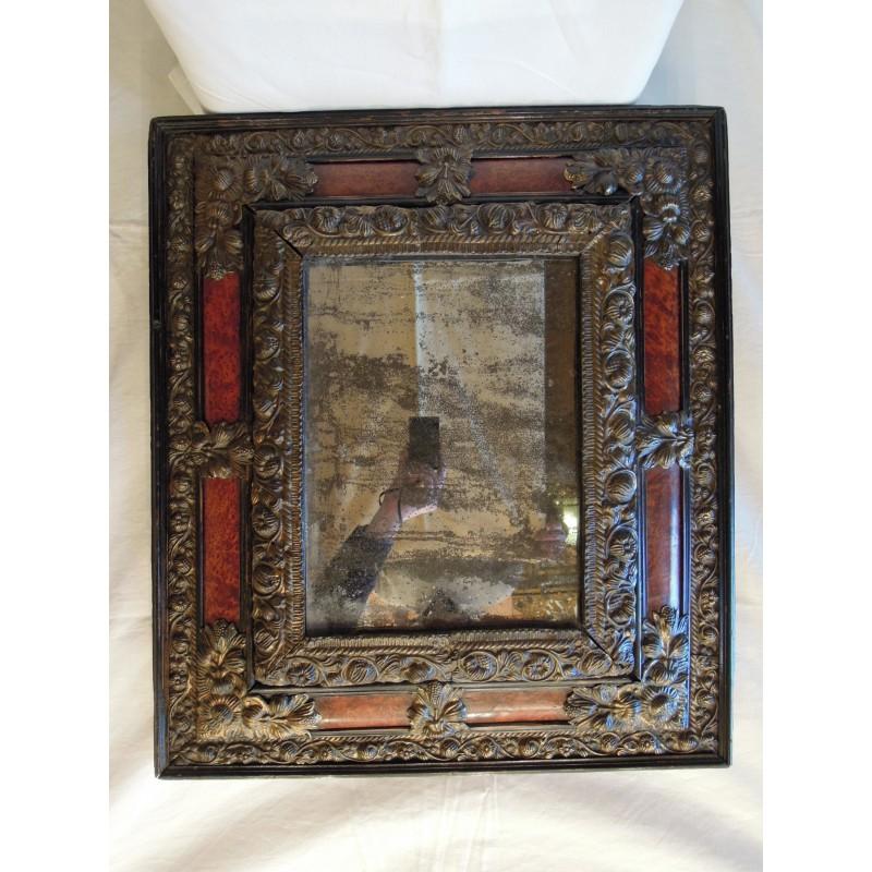 Miroir d 39 poque louis xiii havas antiquites for Miroir louis xiii