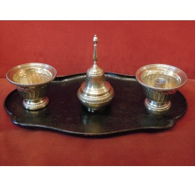 Inkwell and inkstand Regency period