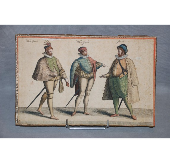 Gravures J.-J. Boissard, Habitus Variarum Orbis Gentium