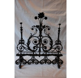 Workmanship wrought iron gate.