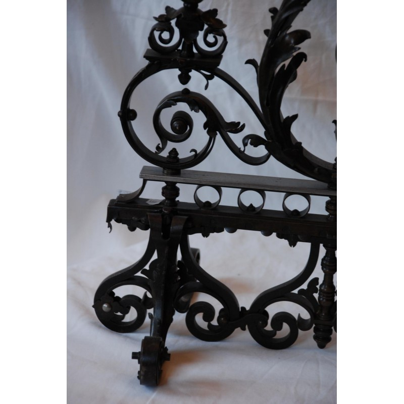 grille de ma trise en fer forg havas antiquites. Black Bedroom Furniture Sets. Home Design Ideas