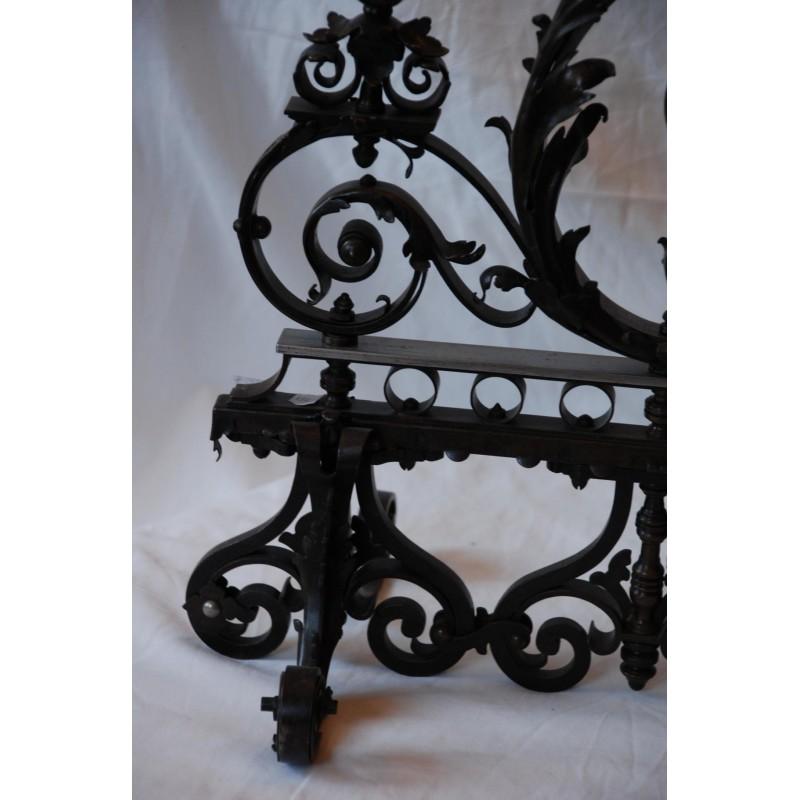 Grille de ma trise en fer forg havas antiquites for Model grille fer forge