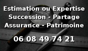 Evaluation succession et expertise antiquites