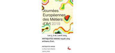 Journées Européennes des Métiers d'art 2019